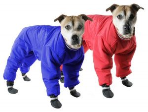 Muttluks red snowsuit